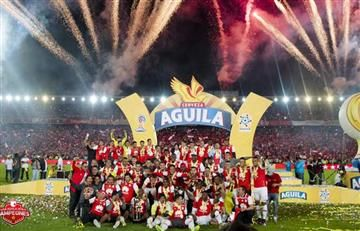 Independiente Santa Fe campeón de la Superliga