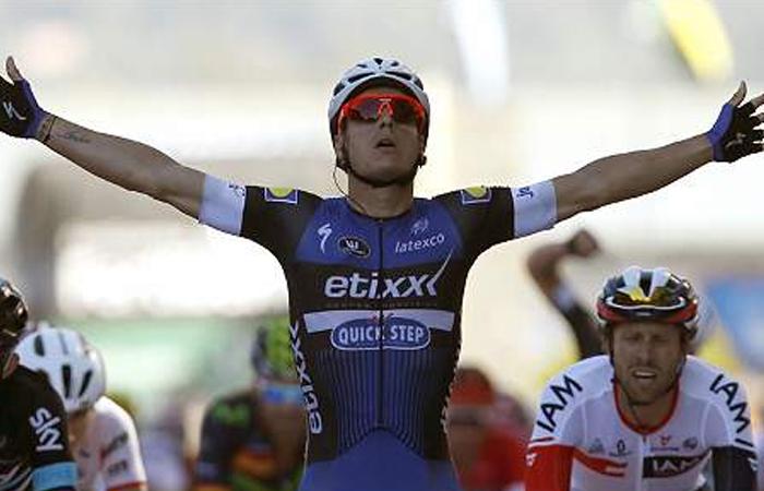 Jonathan Restrepo dejó a Colombia en lo alto del ciclismo este domingo