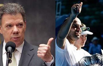 ¿Santos se subió al bus de la victoria de Cabal?