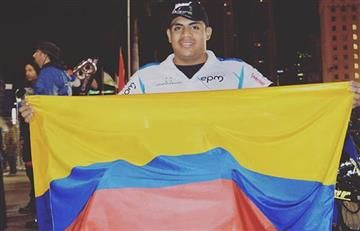 Francisco Sanclemente logra un hito deportivo para Colombia