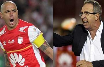Gerardo Pelusso no se olvida de Independiente Santa Fe