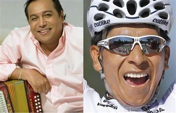 Diomedes Díaz le dejó un homenaje a Nairo Quintana y a los escarabajos