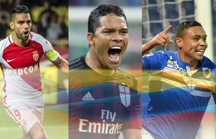 Falcao, Bacca y Muriel brindan a Colombia una noticia para enorgullecerse