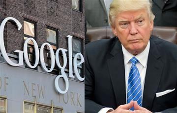 Google y su manifestación contra Trump