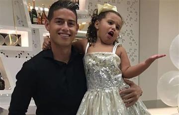 James Rodríguez: El show de celos de su hija Salomé