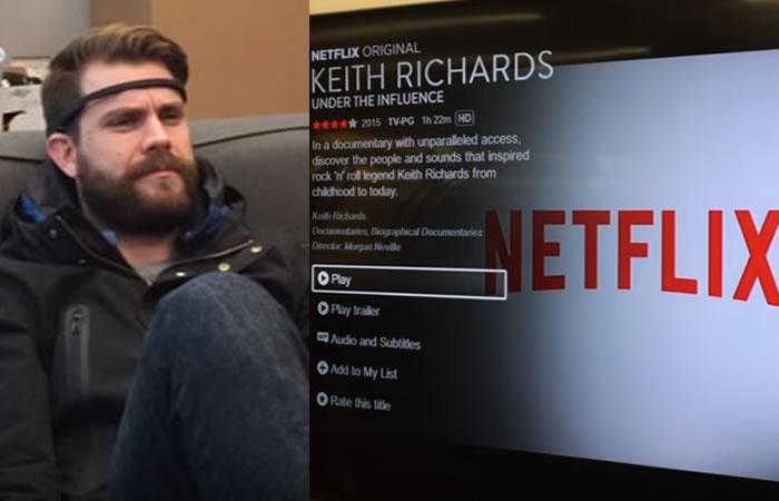 Netflix se puede controlar con la mente