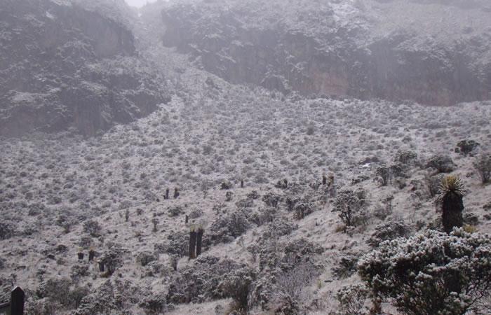 Video: En el Nevado del Ruíz volvió a caer nieve