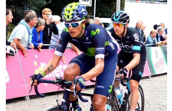 Winner Anacona, la carta de Colombia para el Tour de Dubái