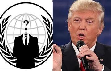 Anonymous ataca a Trump