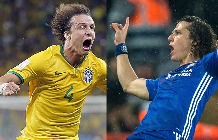 David Luiz recordó con Chelsea el gol que le hizo a la Selección Colombia
