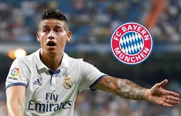 James Rodríguez y la razón por la que iría al Bayern Múnich