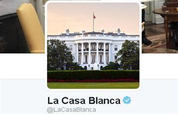Twitter: Casa Blanca de Trump publica en español