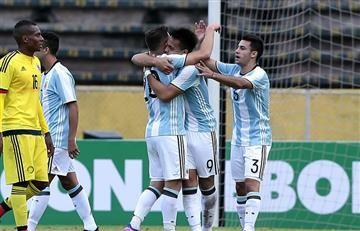 La Selección Colombia dejó escapar el empate con Argentina