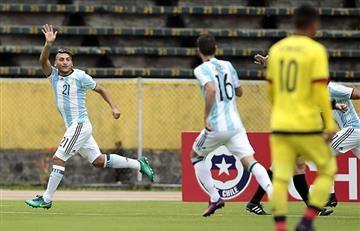 La selección Colombia recibe el gol más rápido del Sudamericano