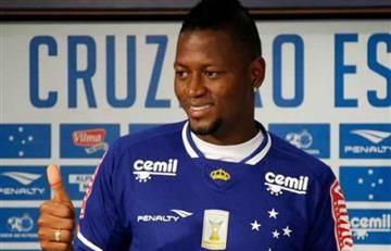 """Cruzeiro: """"Millonarios quiere a Riascos, pero no quiere pagar nada"""""""