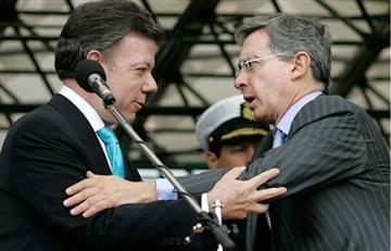 Invitación de Santos a Uribe para ser parte de los diálogos con el ELN