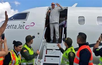 Vin Diesel acaba de aterrizar en Colombia ¿Qué lo trajo al país?