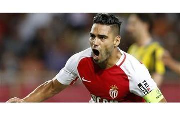 Falcao y el tremendo gol ante el Niza