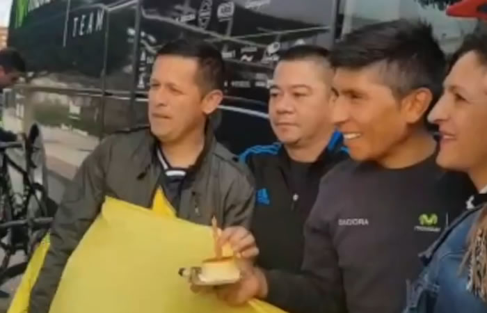 Nairo Quintana: Así le celebraron el cumpleaños al colombiano