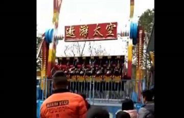China: Adolescente muere tras ser expulsada de una atracción