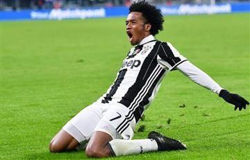 Juventus vs. Inter: Cuadrado anota un golazo al equipo de Murillo