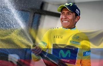 Nairo Quintana brinda a Colombia una noticia para enorgullecerse