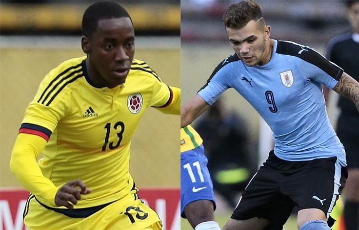 Colombia Sub 20 Contra Uruguay Sub 20