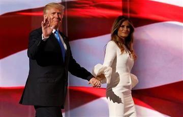 Video: Donald Trump hace un nuevo desplante a Melania