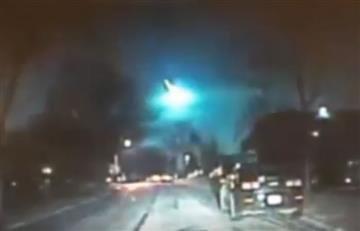Estados Unidos: Enorme meteorito cruzó su cielo