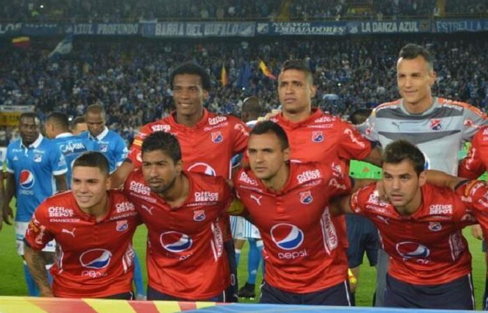 Independiente Medellín: Dos jugadores del mismo equipo se agarraron en pleno partido