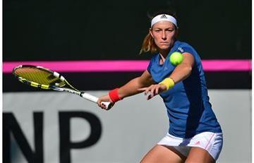 Mariana Duque logró importante victoria en la Fed Cup