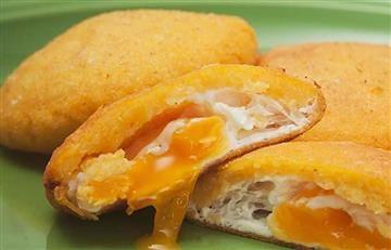 ¿Cómo preparar una Arepa de huevo?