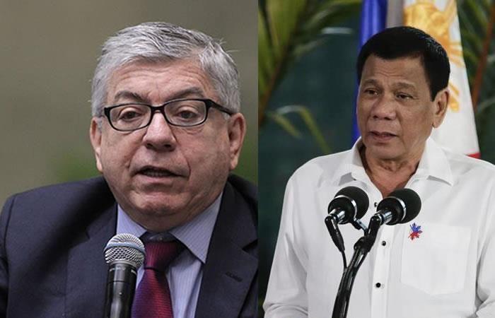 ¿Por qué Duterte llamó 'idiota' al expresidente Gaviria?