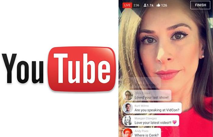 YouTube: Llegan los en vivo y los chats