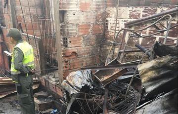Chinchiná: Tres menores mueren en voraz incendio