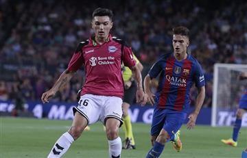 Daniel Torres podrá ganarle un trofeo al Barcelona