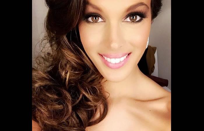 Miss Universo Iris Mittenaere. Foto: Instagram