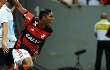 Orlando Berrío debutó con gol en el Flamengo