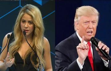 Shakira se pronuncia en contra de la política de Donald Trump