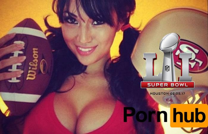 SuperBowl: Pornhub reveló que la remontada disparó su audiencia