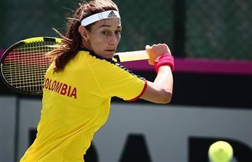 Mariana Duque empató la serie ante México en la Fedcup