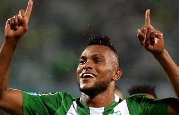 Miguel Borja fue presentado oficialmente en el Palmeiras