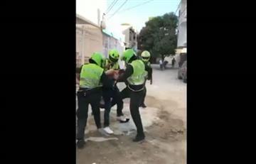 Santa Marta: Policías agreden a periodista