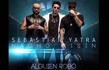 """Sebastián Yatra junto a Wisin y Nacho presentan el tema """"Alguien robó"""""""