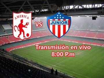 América de Cali Vs. Atlético Junior Transmisión en vivo