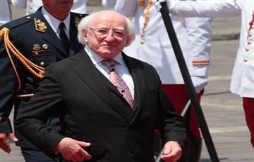 El presidente de Irlanda visita Colombia para apoyar el posconflicto
