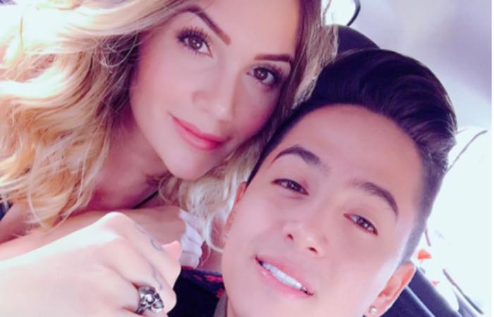 Lina Tejeiro y Andy Rivera derrocharon pasión en último video