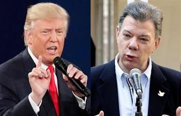 Trump y Santos: Expectativa en Colombia por conversación