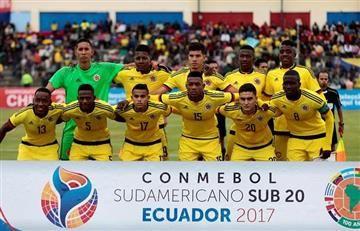 La Selección Colombia sub 20 se despide eliminada por Brasil