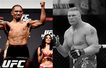 A Brock Lesnar y a Freddy Serrano (colombiano) los echaron así de la UFC